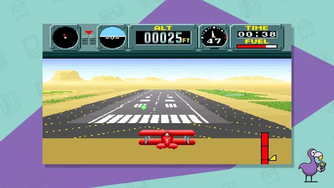 pilotwings snes gameplay
