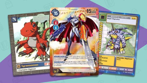 rare digimon cards