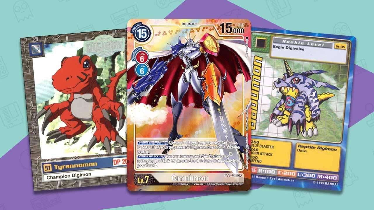 rare digimon cards