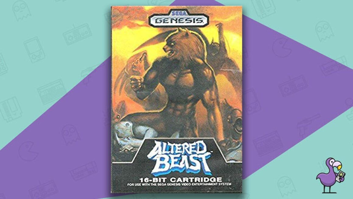 Best Sega Genesis Games - Altered Beast game case cover art