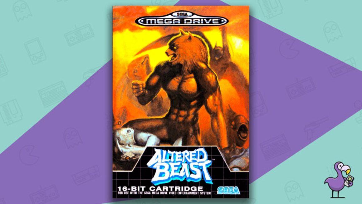 Best Sega Mega Drive games - Altered Beast Game Case Cover Art