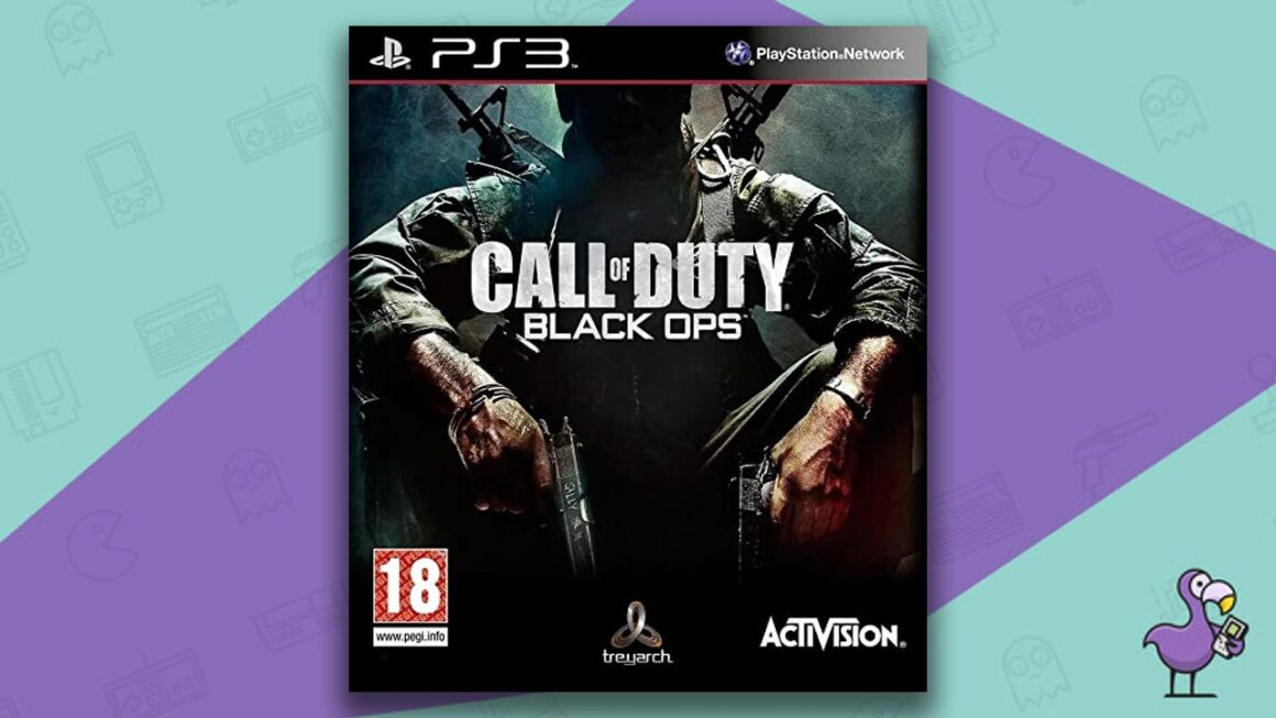 Best PS3 Games - Call of Duty: Black Ops game case cover art