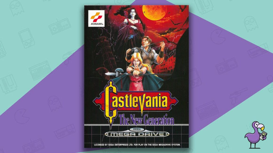 Best Sega Mega Drive games - Castlevania: The New Generation game case cover art