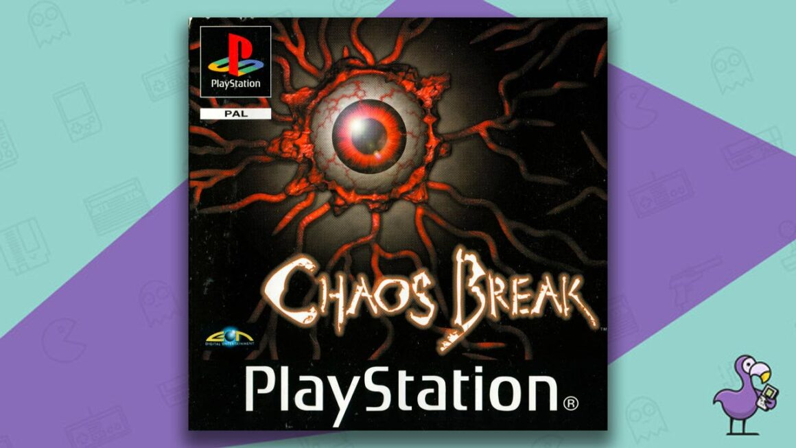 Best PS1 Horror Games Of All Time - Chaos Break Game Case cover Art