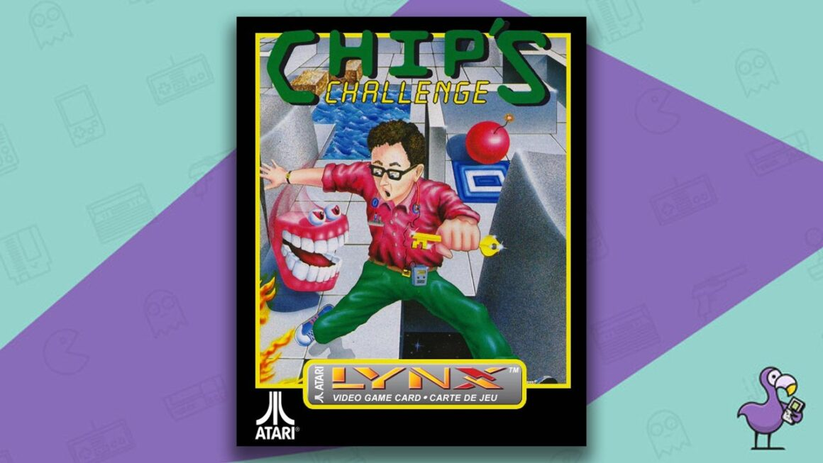 Best Atari Lynx Games - Chip's Challenge game case cover art