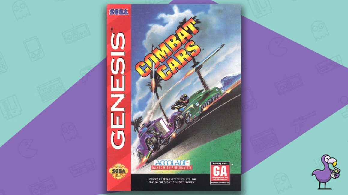 Best Sega Genesis Games - Combat Cars game case cover art