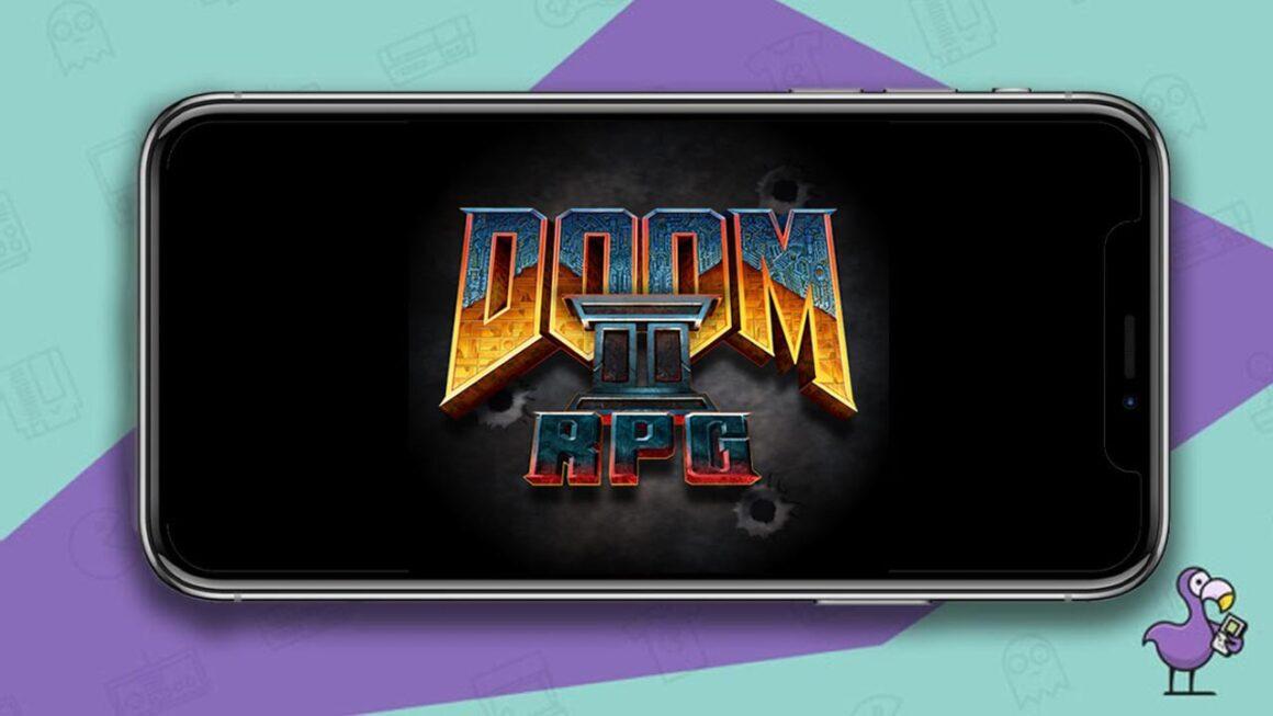 Best Doom Games - Doom RPG II iOS game screen