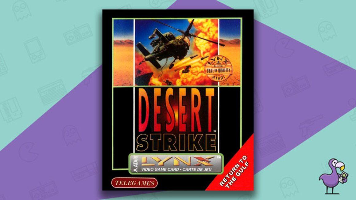 Best Atari Lynx Games - Desert Strike game case cover art