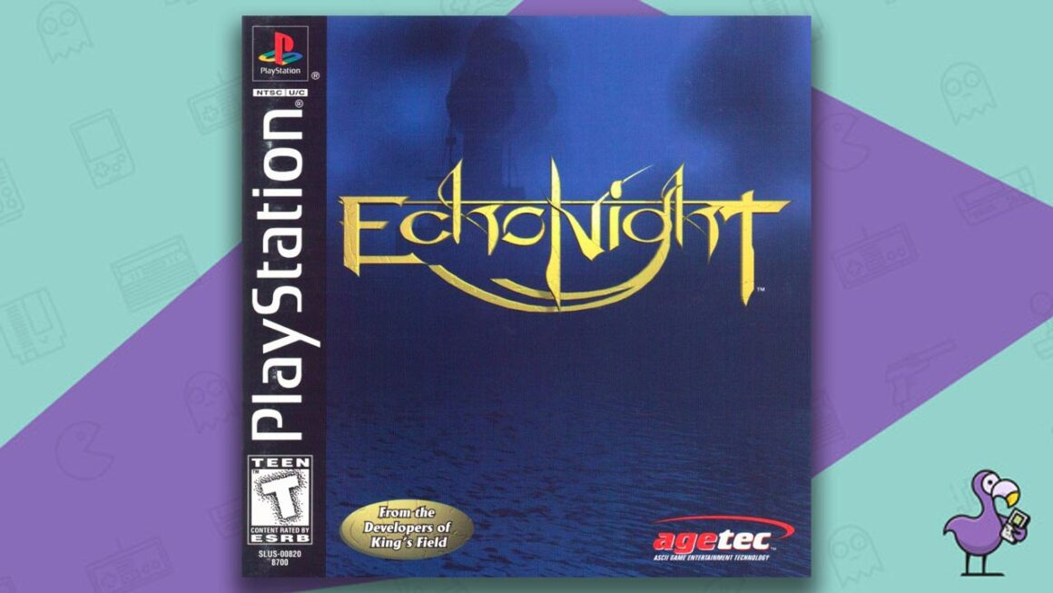 Best PS1 Horror Games Of All Time - Echo Night game case cover art