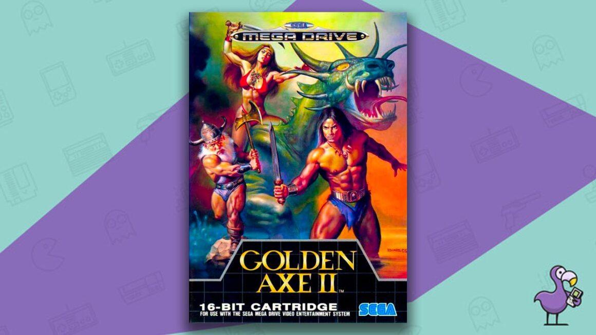 Best Sega Mega Drive games - Golden Axe II Game Case Cover Art