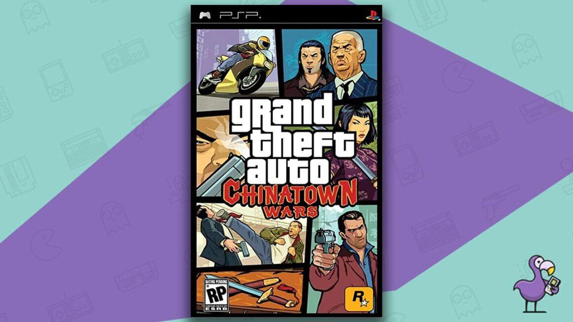 Best PSP Games - GTA Chinatown wars