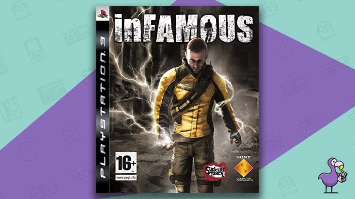 Best PS3 Games - Infamous game case cover art