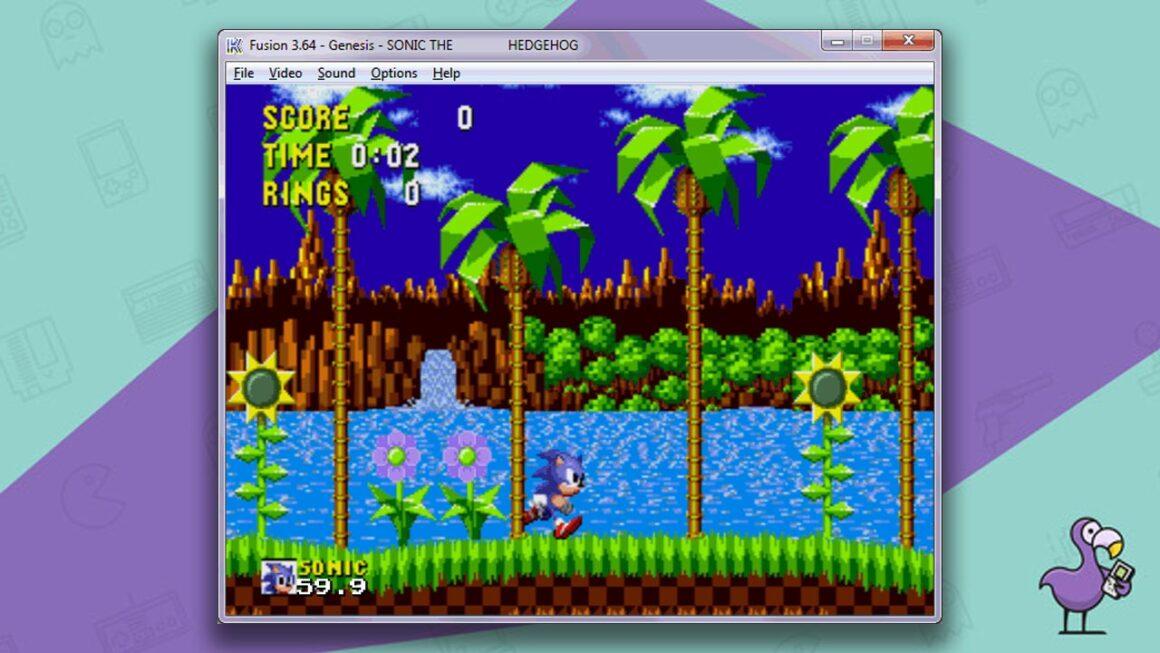 Kega Fusion - Best Sega Genesis emulators of all time