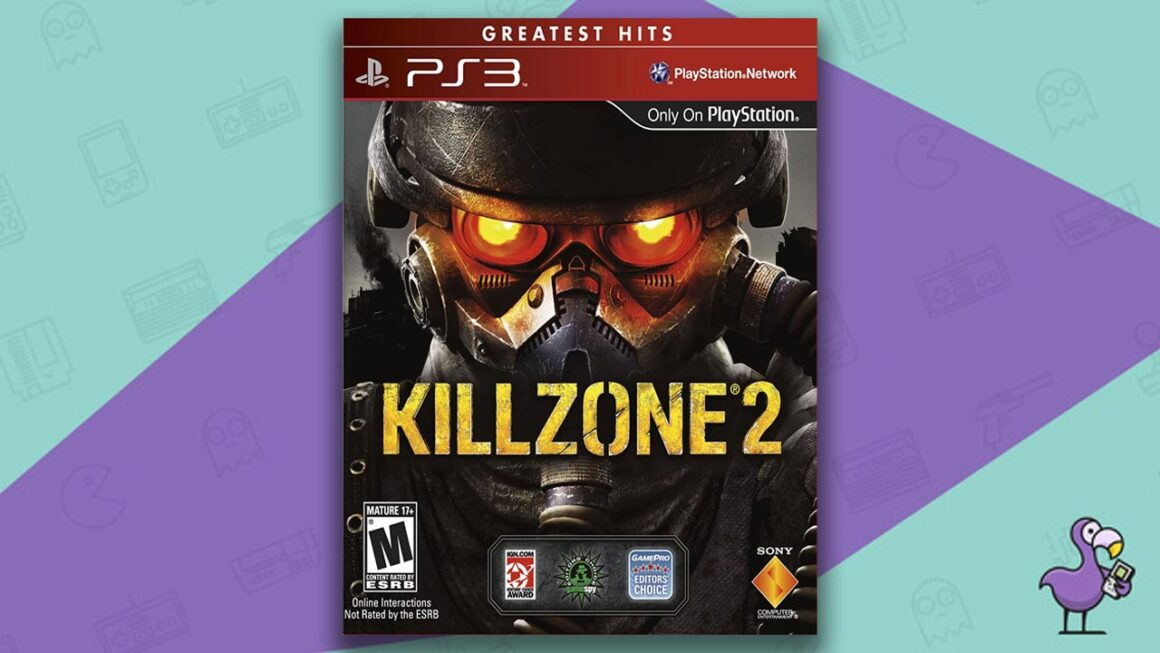 Best PS3 Games - Killzone 2 game case cover art