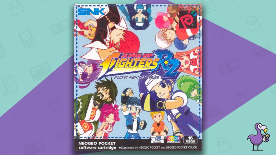 Best Neo Geo Pocket Games - King of Fighters: R2 game case cover art
