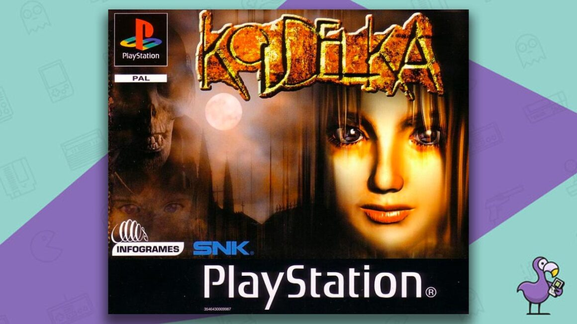 Best PS1 Horror Games Of All Time - Koudelka Game Case Cover Art