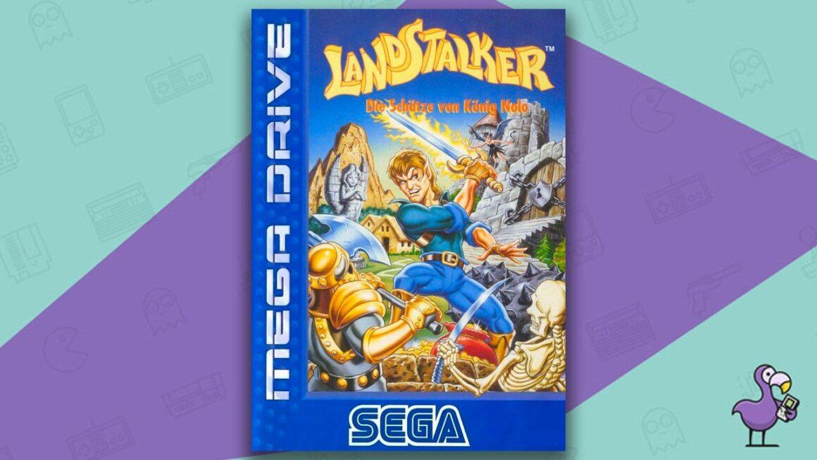 Best Sega Mega Drive games - Landstalker game case cover art