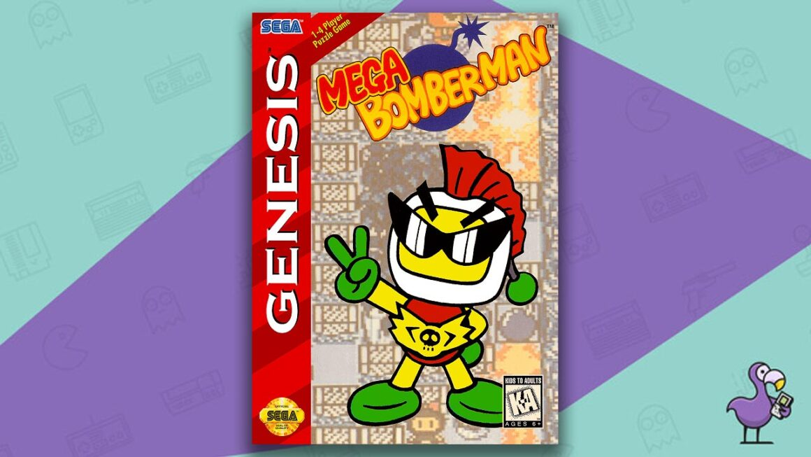 Best Sega Genesis Games - Mega Bomberman game case cover art
