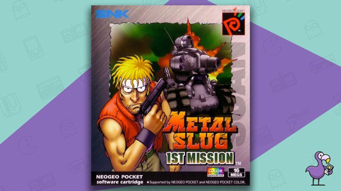 Best Neo Geo Pocket Games - Metal slug 1st mission game case cover art