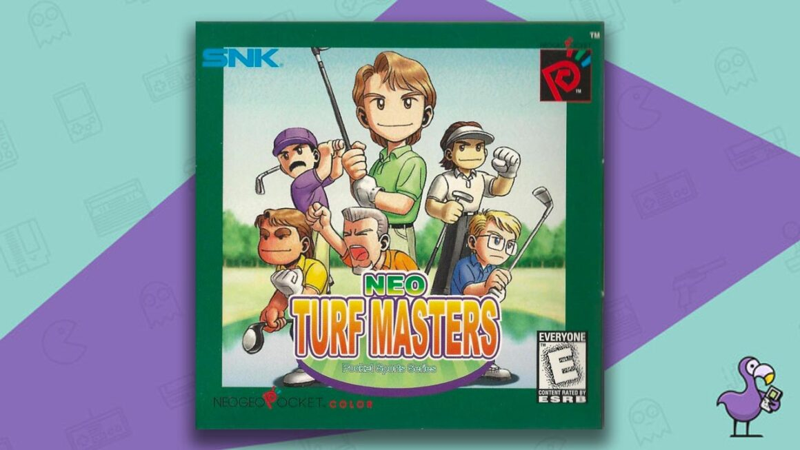 Best Neo Geo Pocket Games - Neo Turf Masters Game Case Cover Art