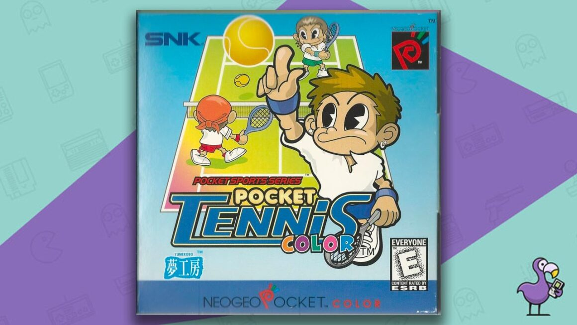 Best Neo Geo Pocket Games - Pocket Tennis Color game case cover art
