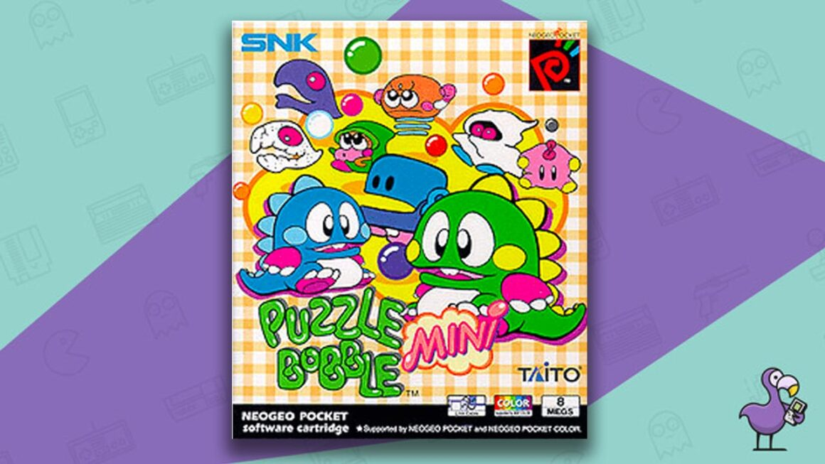 Best Neo Geo Pocket Games - Bust a Move Pocket/Puzzle Bobble Mini game case cover art