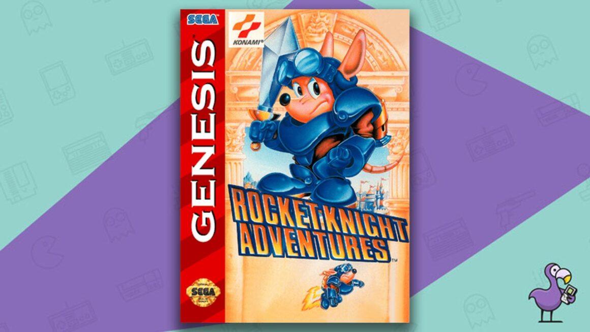 Best Sega Genesis Games - Rocket Knight Adventures game case cover art