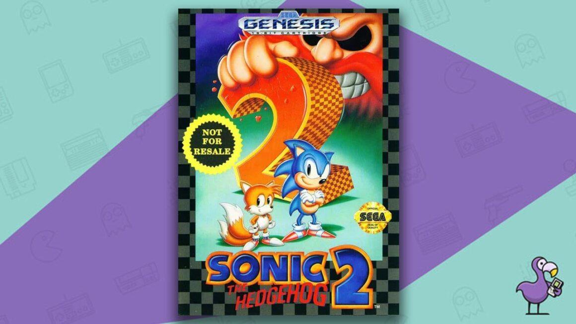 Best Sega Genesis Games - Sonic the Hedgehog 2 game case cover art