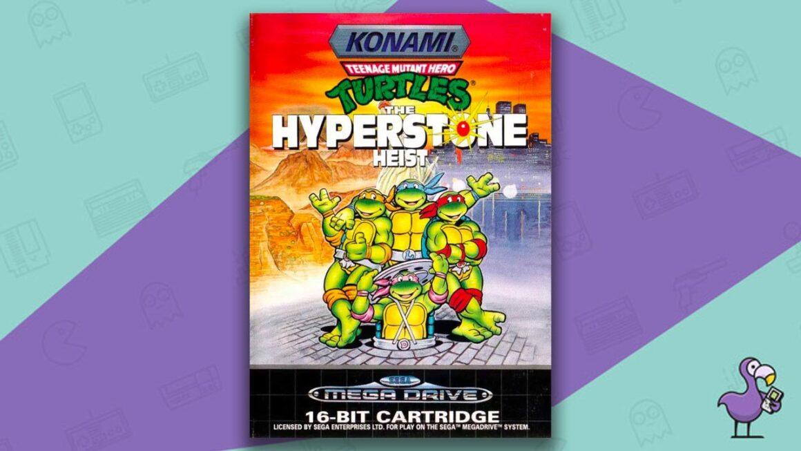 Best Sega Mega Drive games - Teenage Mutant Hero Turtles: The Hyperstone Heist Game Case Cover Art
