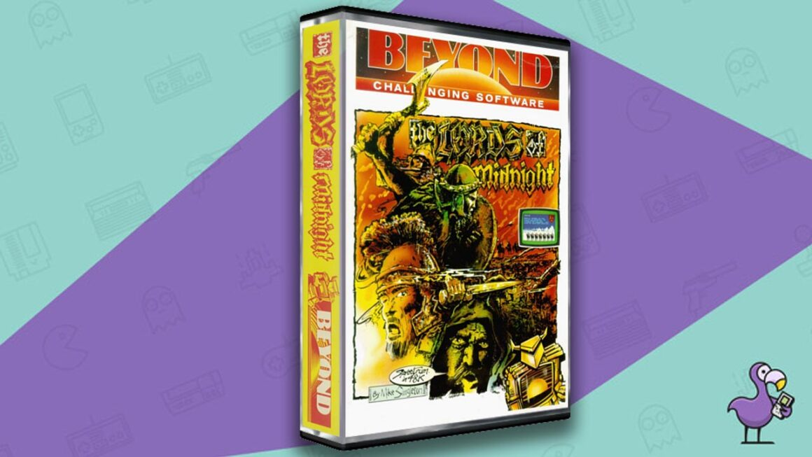 Best ZX Spectrum Games - The Lords Of Midnight game case cover art