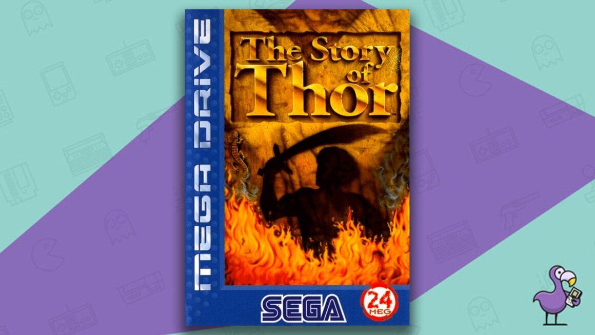 Best Sega Mega Drive games - The Story Of Thor game case cover art