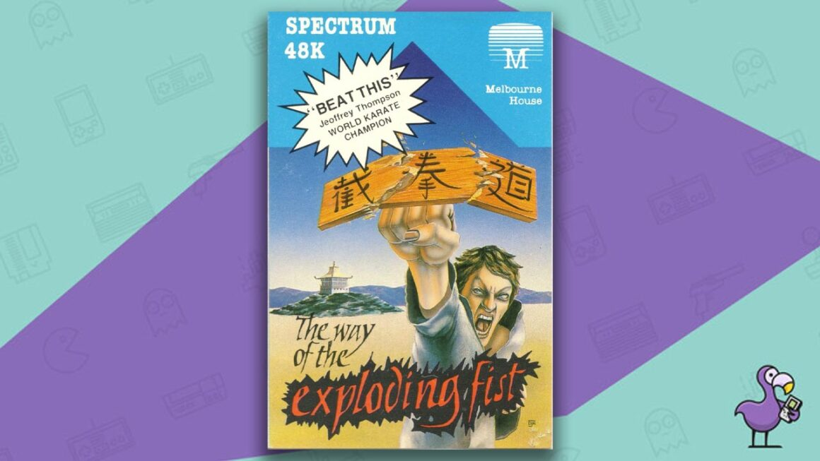 Best ZX Spectrum Games - The Way Of The Exploding Fist game case cover art
