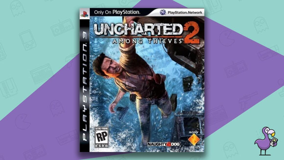 Best PS3 Games - Uncharted  2: Among Thieves game case cover art