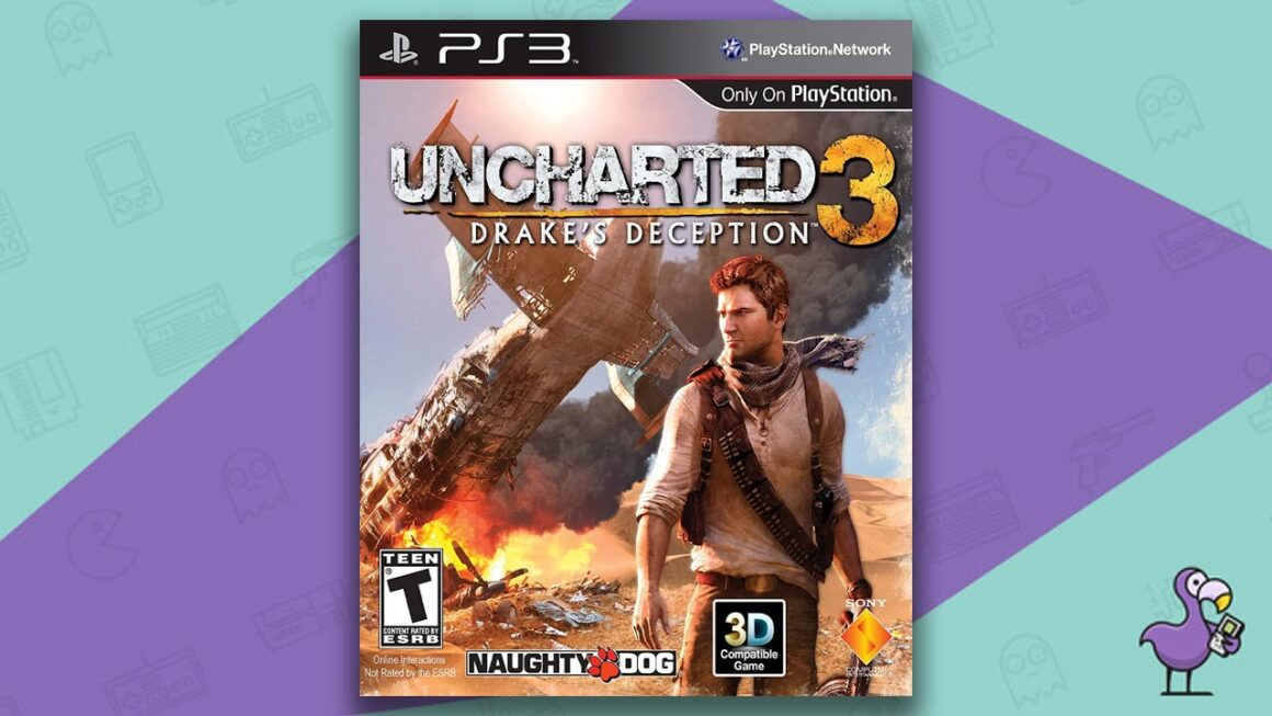 Best PS3 Games - Uncharted 3: Drake's Deception game case cover art