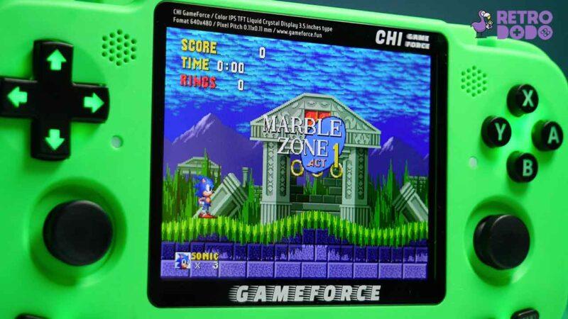 gameforce handheld gameplay