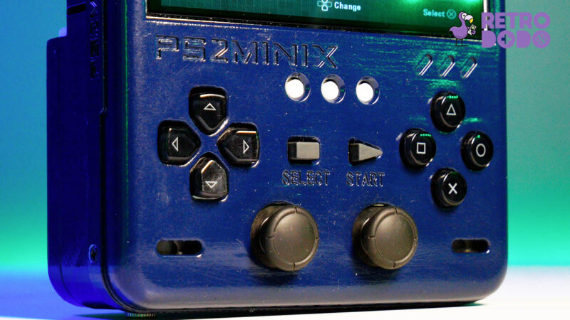 ps2 portable buttons