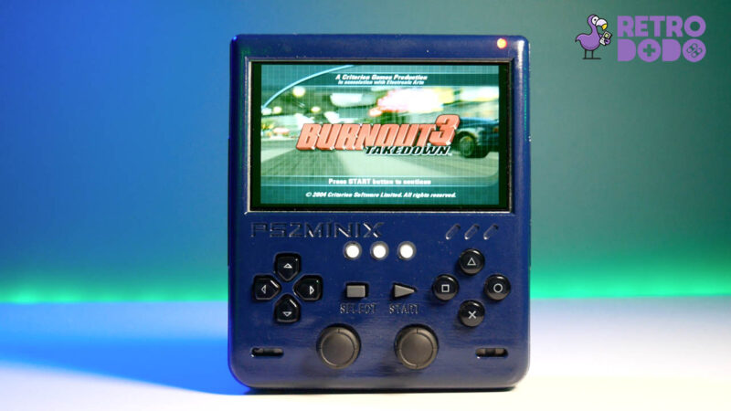 PS2 portable gameplay