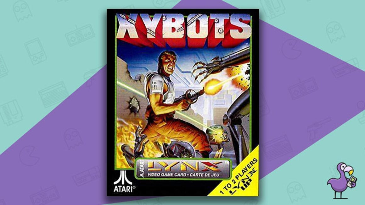 Best Atari Lynx Games - Xybots game case cover art