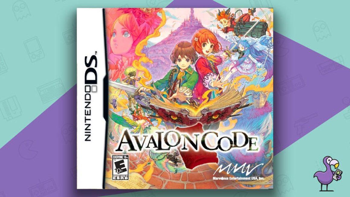 Best DS RPGs - Avalon Code game case cover art