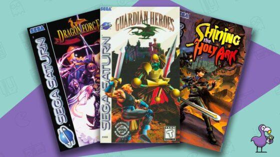 Best Sega Saturn RPGs of all time feature image Retro Dodo