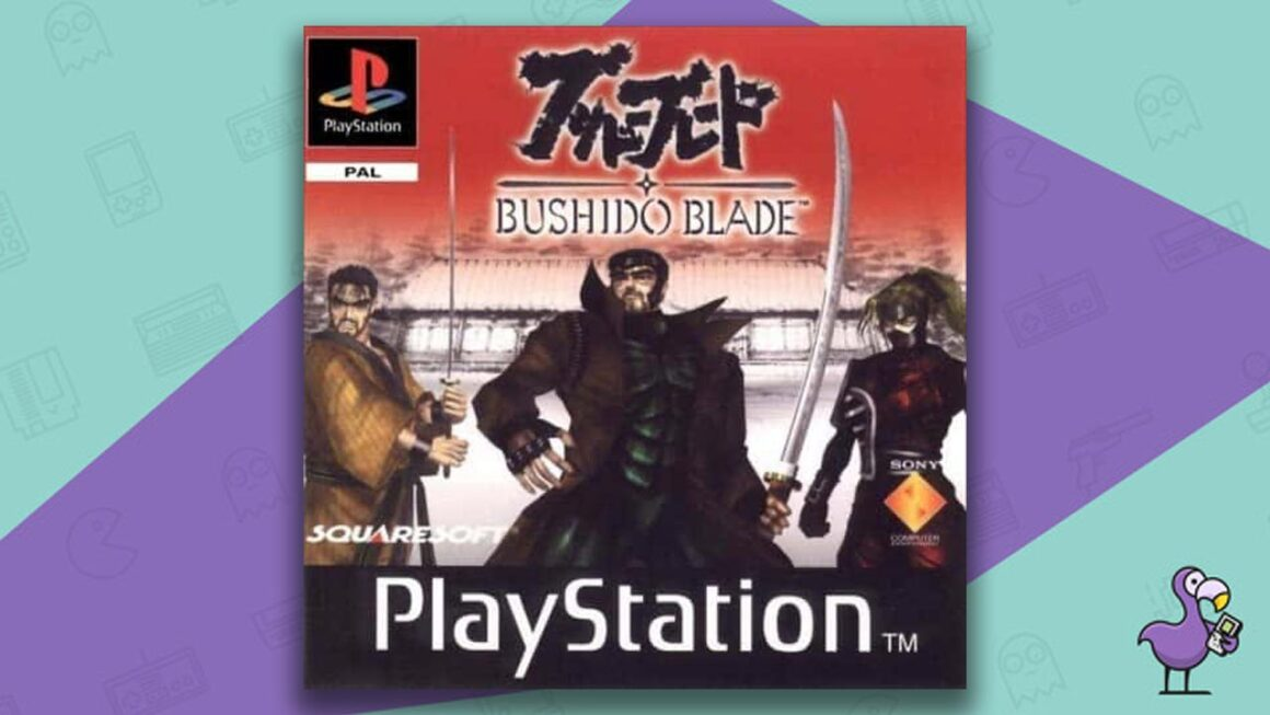 Best PS1 Games - Bushido Blade Cover Art Game Case