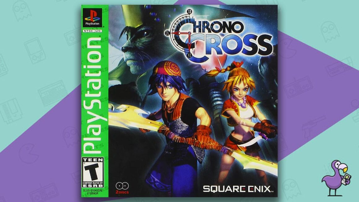Best PS1 Games - Chrono Cross game case cover art
