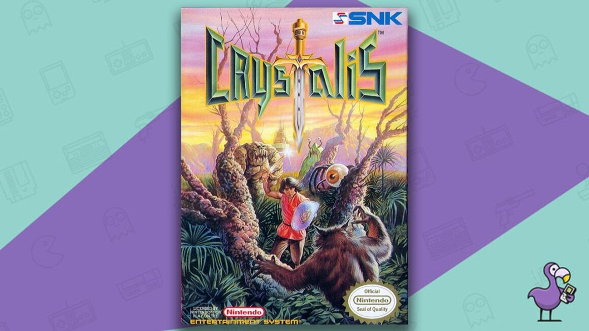 Best NES RPG Games - Crystalis game case cover art