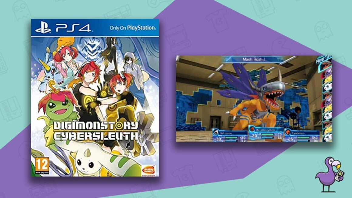 Digimon Story: Cyber Sleuth - Best Digimon Games