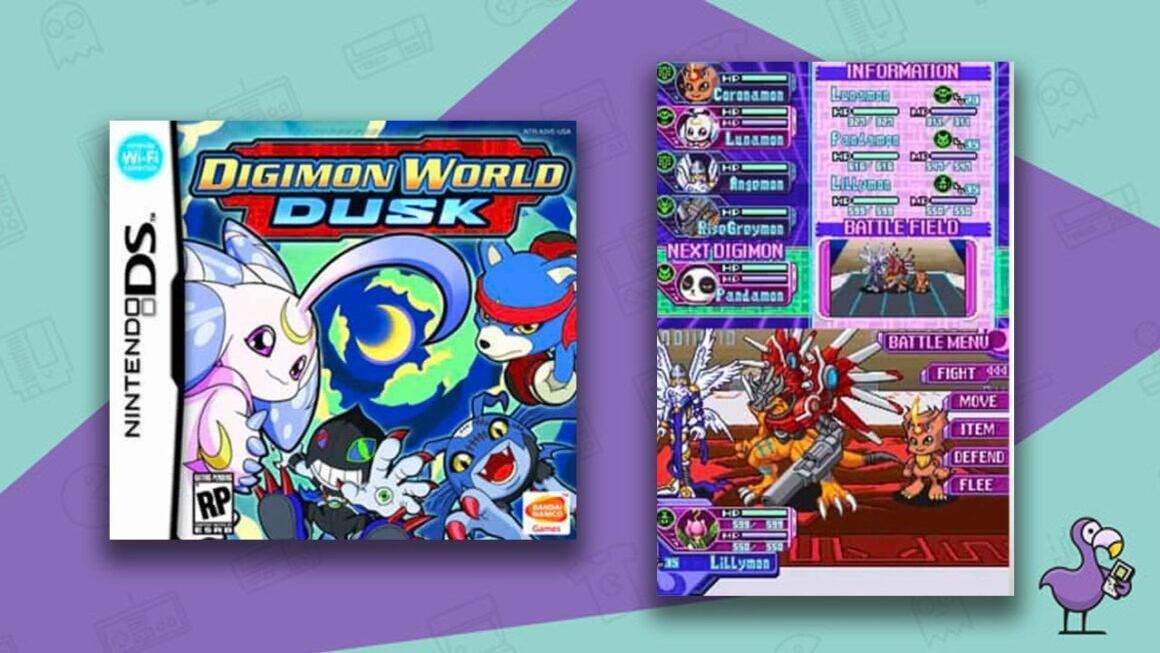 Best Digimon Games - Digimon World Dawn/Dusk game case gameplay