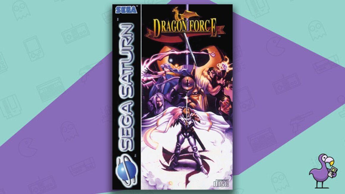 Best Sega Saturn RPGs - Dragon Force game case cover art