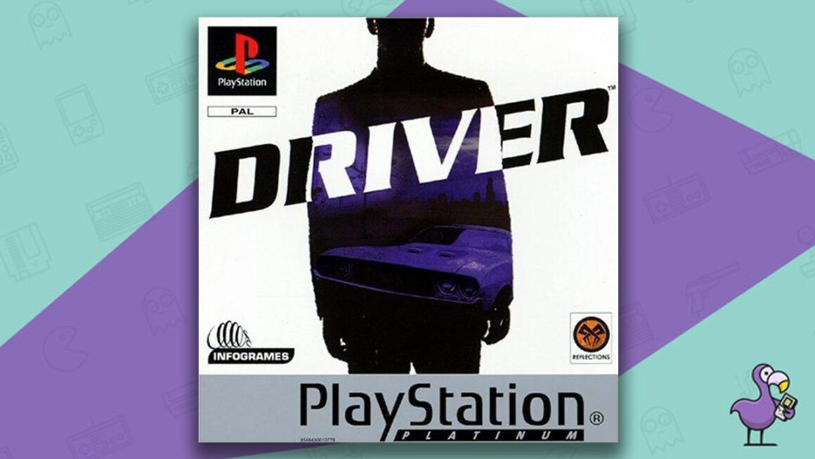 Best PS1 Racing Games - Driver game case cover art