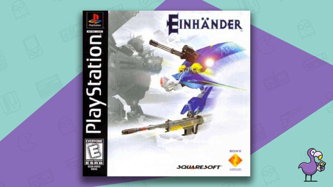 Best PS1 Games - Einhänder game case cover art