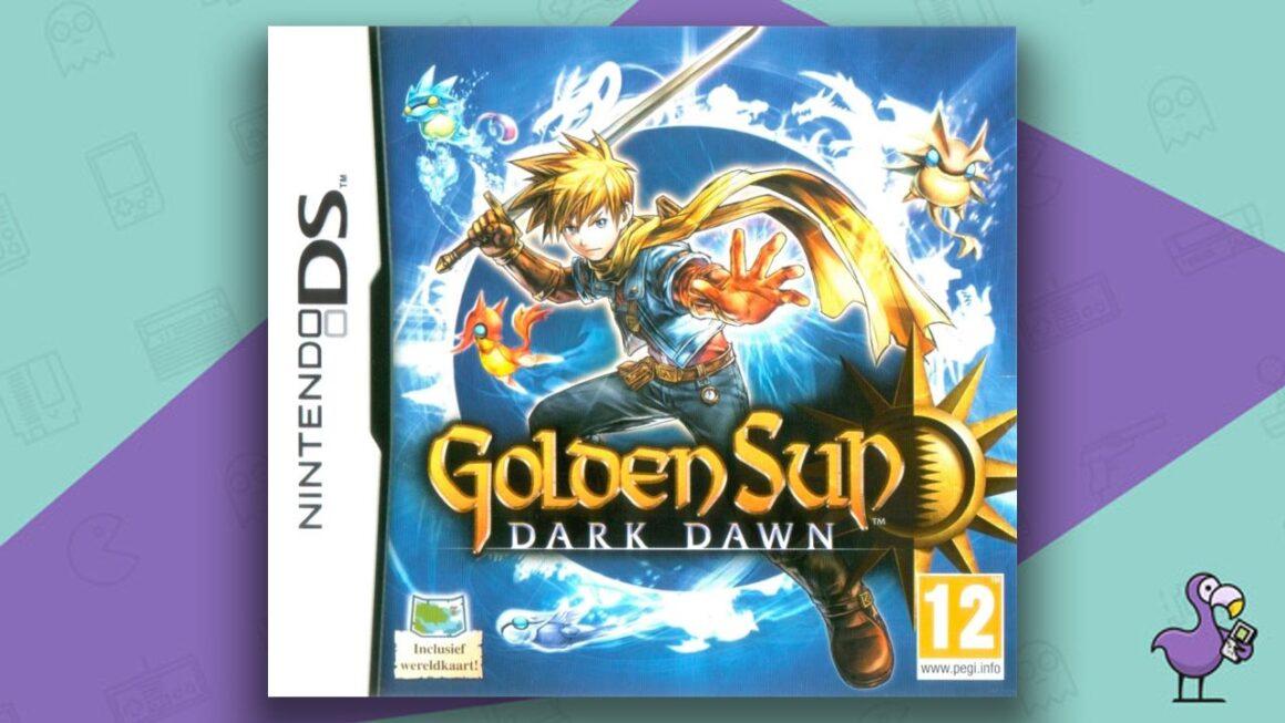 Best DS RPGs - Golden Sun Dark Dawn game case cover art