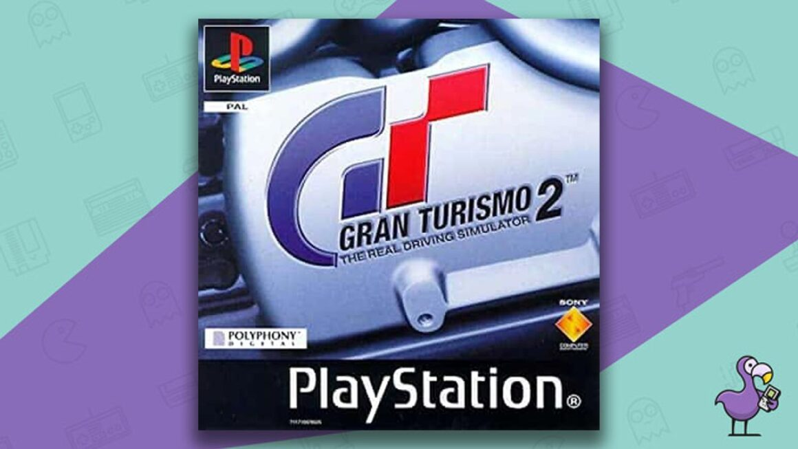 Best PS1 Racing Games - Gran Turismo 2 game case cover art